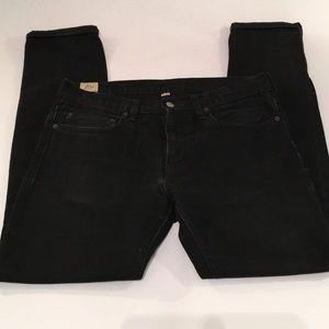 J.Crew men's 31 x 32 black 484 skinny jeans